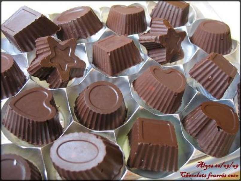 Chocolats Maison Fourres Coco Ou Amandes Express Recette Ptitchef