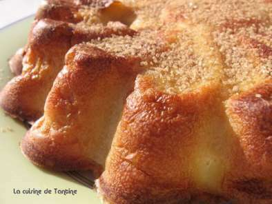 clafoutis de poires au lait d amande recette ptitchef