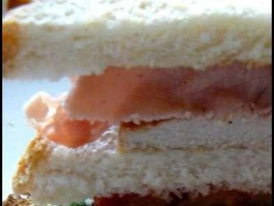 Club sandwich à ma façon pour manger froid quand il fait chaud