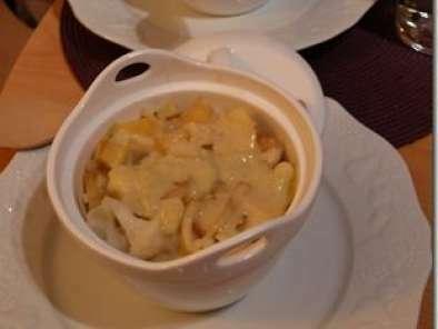 Comme Un Gratin De Chou Fleur Pommes Oignon Et Poulet Sauce Curry