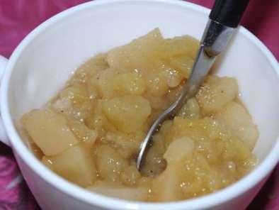 compote pommes poires la cannelle sans sucre recette ptitchef. Black Bedroom Furniture Sets. Home Design Ideas