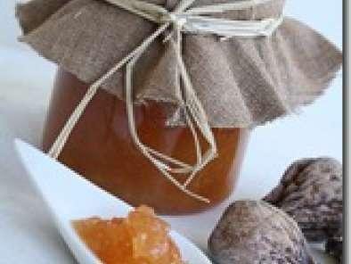 confiture de coing aux abricots et figues s ch s recette ptitchef. Black Bedroom Furniture Sets. Home Design Ideas
