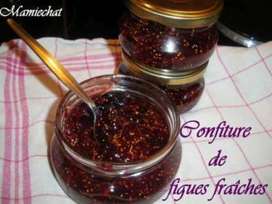 confiture de figues simple