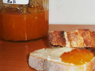 Confiture de potiron à l'orange
