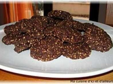 Cookies Au Quinoa Souffle Recette Ptitchef