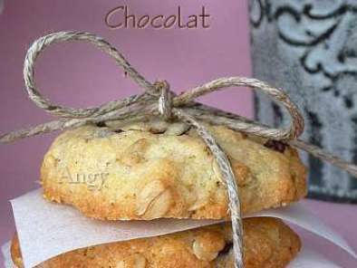 cookies aux flocons d'avoine et chocolat, Photo 3