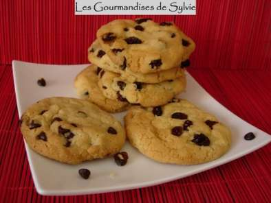 Cookies aux Raisins de Corinthe ou aux Pépites de Chocolat, photo 2
