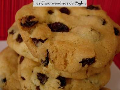 Cookies aux Raisins de Corinthe ou aux Pépites de Chocolat, photo 3