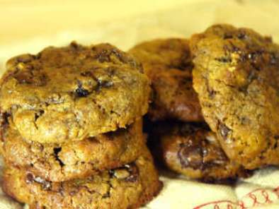 cookies melasse rhum-raisin
