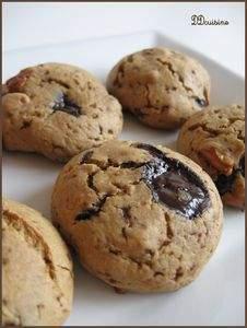 Cookies moelleux aux p pites de chocolat et noix de p can - Recette cookies chocolat moelleux ...