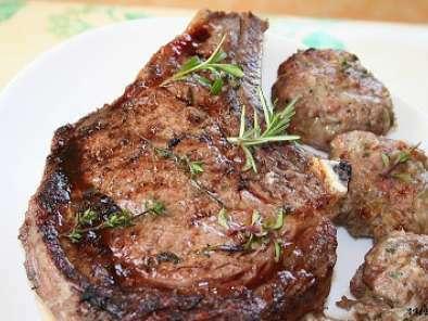 C te de boeuf au barbecue recette ptitchef - Cote de boeuf barbecue weber ...