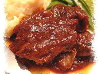Côtelettes de porc barbecue(mijoteuse)