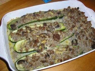 Courgettes farcies sur lit de riz recette ptitchef - Recette courgette farcie riz ...