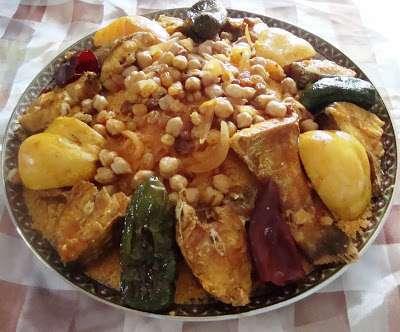 Couscous d 39 automne au poisson et aux coings recette ptitchef - Plat d automne cuisine ...