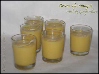 Crème à la mangue au miel &gingembre, Photo 2