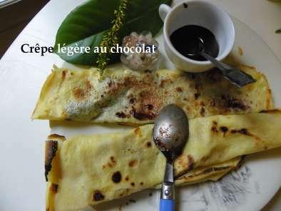 Crepe Legere Au Chocolat Pate Facile A Faire Recette Ptitchef