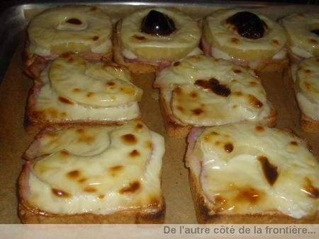 Croque monsieur tropical recette ptitchef - Recette croque monsieur au four ...