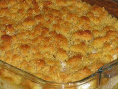 Crumble de cabillaud