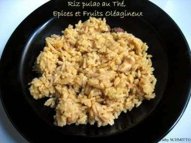 cuisine indienne recette du riz pulao au th pices et. Black Bedroom Furniture Sets. Home Design Ideas