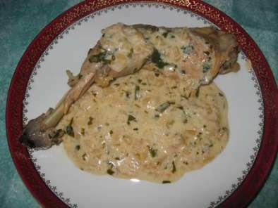 Cuisses de poulet l 39 estragon recette ptitchef - Cuisse de poulet calories ...