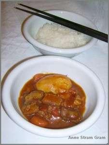 curry japonais et son riz gluant recette ptitchef. Black Bedroom Furniture Sets. Home Design Ideas