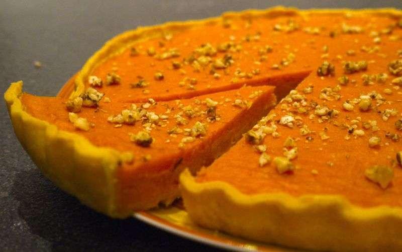 Dossier halloween 1 pumpkin pie au potimarron recette - Recette dessert halloween ...