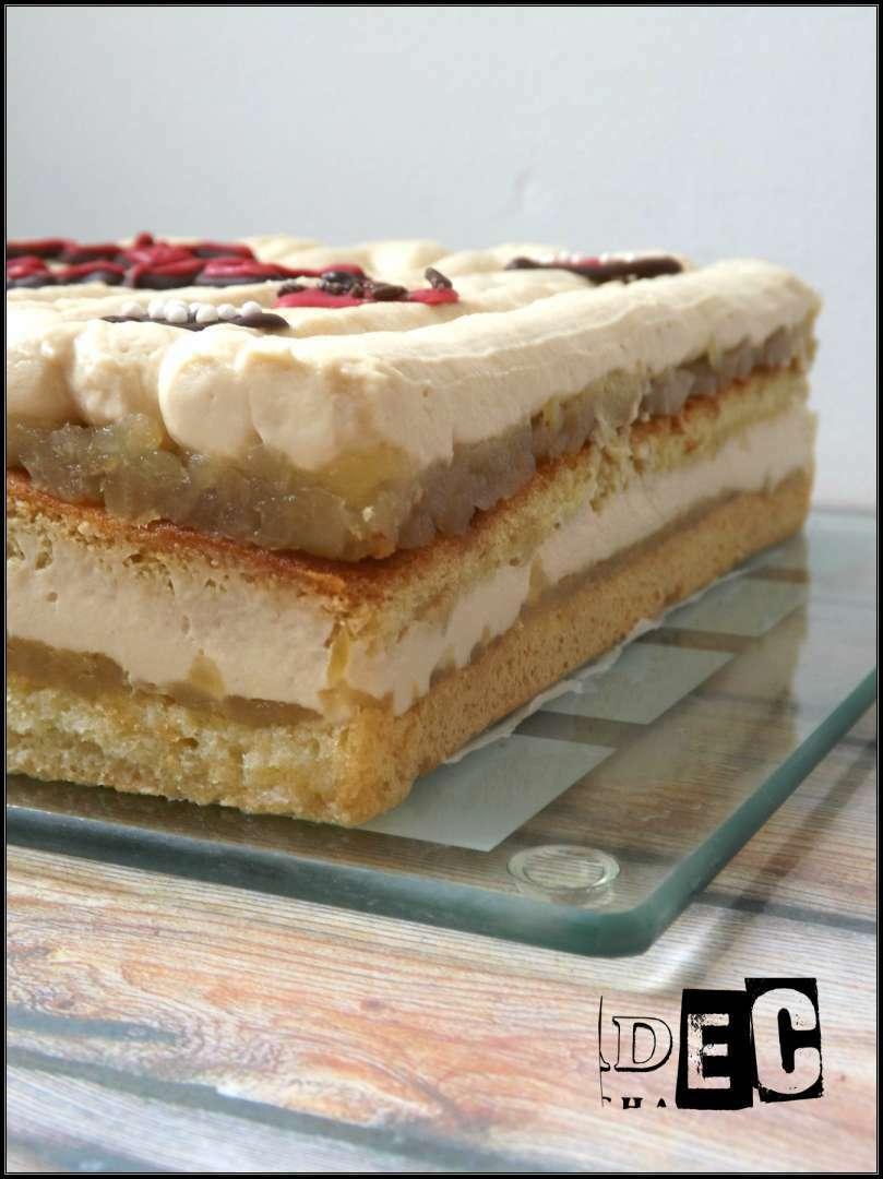 Entremet pommes caramel beurre sal recette ptitchef - Recette caramel beurre sale breton ...