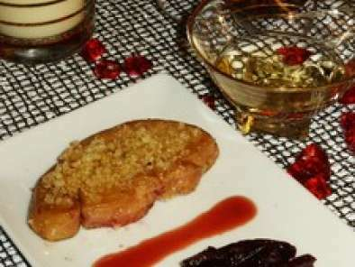 Escalope de foie gras, Chutney de betterave rouges, Photo 2