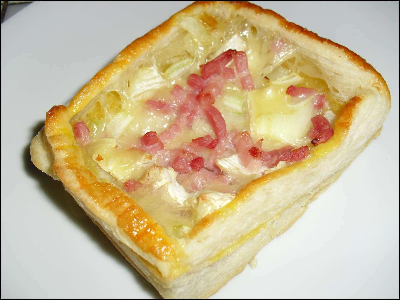 Feuillet 233 S Lardons Oignons Et Brie Recette Ptitchef