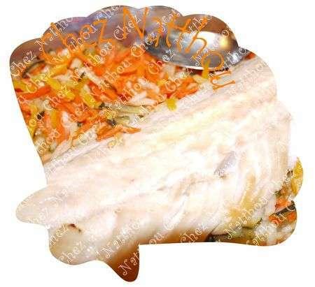 Filet de lieu la julienne de l gumes recette ptitchef - Cuisiner filet de julienne ...