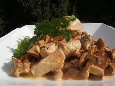 Filet de poulet la cr me et aux champignons sylvestre recette ptitchef - Filet de poulet grille recette ...