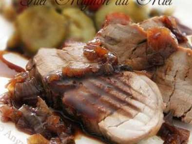 Filet mignon au miel recette ptitchef - Comment cuisiner un filet mignon de porc ...