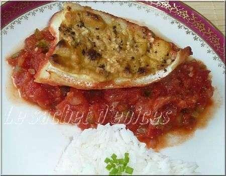 Filets de julienne la moutarde et la tomate recette - Cuisiner filet de julienne ...
