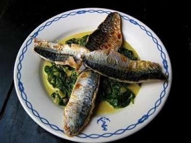 Filets de maquereau grill s pinards au curry recette ptitchef - Maquereau grille au four ...