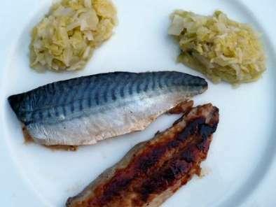 Filets de maquereau laqu s recette ptitchef - Cuisiner filet de maquereau ...