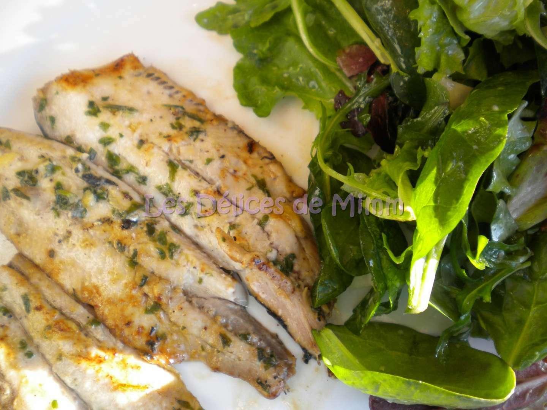 Filets de sardines marin s grill s recette ptitchef - Sardines au four sans odeur ...