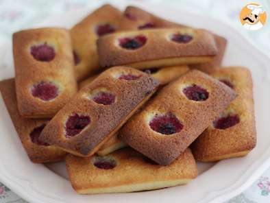 Financiers aux framboises super faciles !, photo 4
