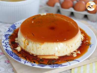 Flan Aux œufs Vanille Recette Ptitchef