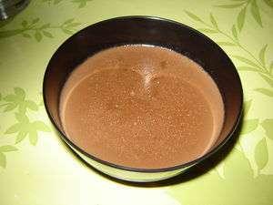flan chocolat coco au lait de soja recette ptitchef. Black Bedroom Furniture Sets. Home Design Ideas