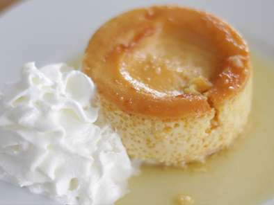 Flan fondant au mascarpone et caramel, photo 2