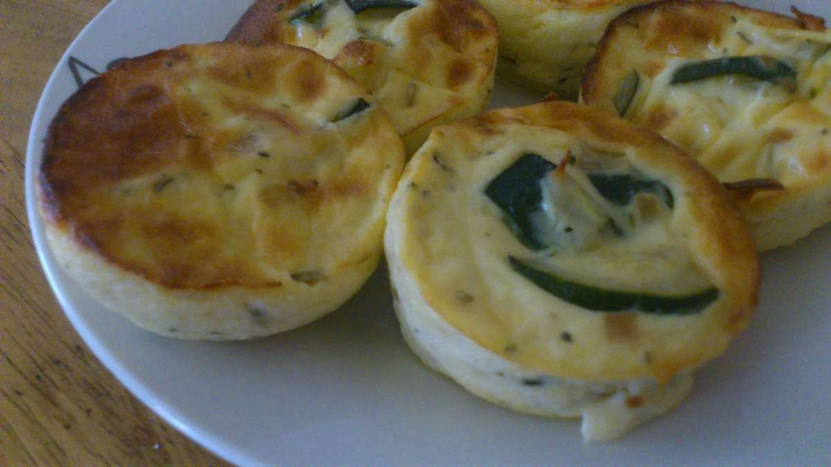 Flans de courgettes recette ptitchef - Accompagnement sardines grillees barbecue ...