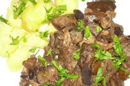 Foie de porc au vinaigre blanc recette ptitchef - Recette desherbant vinaigre blanc ...