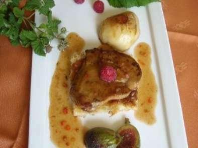 foie gras frais de canard po l aux fruits frais recette. Black Bedroom Furniture Sets. Home Design Ideas