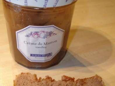 Fondant a la creme de marron recette ptitchef - Dessert a la creme de marron ...