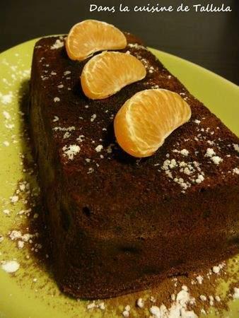 Fondant au chocolat et la mandarine recette ptitchef - Fondant au chocolat la table a dessert ...