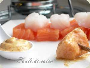 fondue de poisson recette ptitchef. Black Bedroom Furniture Sets. Home Design Ideas
