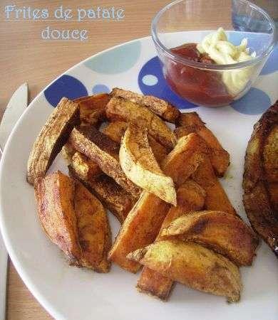 Frite de patate douce au four recette ptitchef - Frite de patate douce au four ...