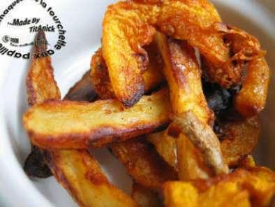 Frites De Courge Butternut Et Pommes De Terre Aux épices - Cuisiner la courge butternut