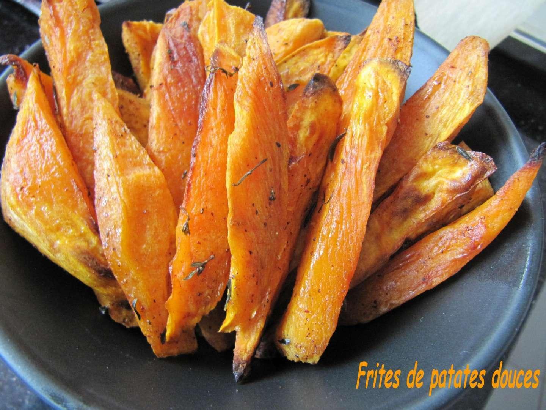 Frites de patates douces recette ptitchef - Idee recette patate douce ...