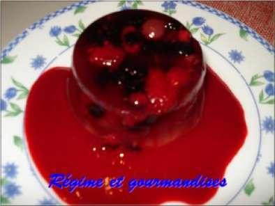 fruits rouges en gel e d 39 pices et son coulis de framboises recette ptitchef. Black Bedroom Furniture Sets. Home Design Ideas